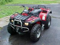This ATV is full time 4 wheel drive. This features the