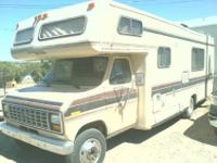 Ford E350 25' 1985 with 97901 miles. Has
