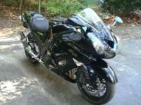 2008 Kawasaki ZX14R, 4350 miles. This bike has
