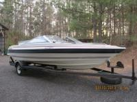 1985 19' Bayliner Capri 2.1 boat for sale. Great family
