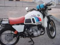 BMW R80GS Paris Dakar - Very nice example of this