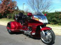 1995 Honda GL1500 Goldwing SE Trike.78,147 Miles!20th