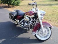 2007 Harley Davidson Road King Classic (FLHRC). 96