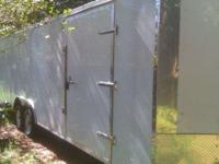 8.5'x24' Enclosed cargo trailer/car auto hauler with