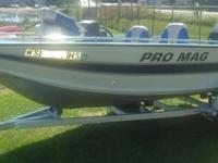 Very nice fishing boat package, well maintained. Great