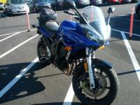 Blue 2006 Yamaha FZ6, 14,xxx miles, looks great & rides