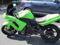 2008 Kawasaki Green Ninja 650r- 2 Brothers Exhaust-