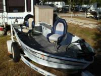 Shorelander trailer drive on, 50 Horsepower Mercury ,