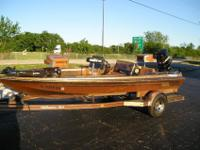 RANGER BASS SKI BOAT GREAT CONDITION POS TRADE 4 OLD