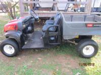 TORO -- UTILITY VEHICLE -- DUMP BED -- TWIN CYLINDER
