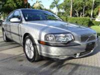 This 2001 Volvo S80 4dr Sedan features a 2.9L L6 PFI