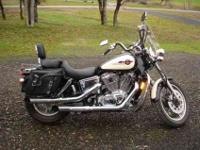 This is a Beautiful Honda Shadow It is a very Beautiful