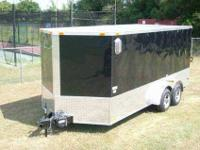 best trailers  7X16 ENCLOSED CARGO TRAILER WITH