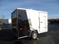 BRAND NEW 2012 MICHIGAN MADE 7'X10' ENCLOSED TRAILER