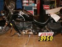 2005 Honda VT1100C25 Shadow Sabre-1099cc bike. This