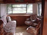 - Clean Vintage luxury model 3 axle travel trailer in