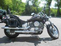 2003 YAMAHA V STAR 1100 CUSTOM, Metallic Titanium /