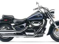 2005 SUZUKI BOULEVARD C90, Two Tone Black and Blue,