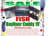1982 Bayliner 19' Cuddy Don't you love it when you find