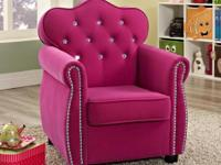 ADORABLE HOT PINK PRINCESS CHAIR! ** PERFECT FOR YOUR