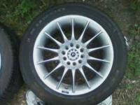 FOR SALE I HAVE 3 NICE KC ALLOY MAG WHEELS WITH TIRES