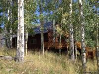 DESIGNER STYLE-LOG CABIN WITH SCENIC MTN VIEWS ON 42.11