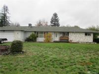 Spacious 3 bed/1.5 bath rambler sits on 0.36 acres.