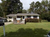 NO HOA! Adorable ranch located in the heart of Garner