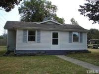 Cute 3BR home was remodeled in 2003. Vinyl siding,