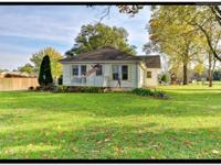Country living just steps from town!!!! 2.5 acres with