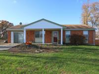 Spacious 3 bedroom brick/sided ranch & privacy fence