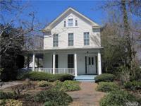 Historic Henry Wells House Circa 1840. Charming,