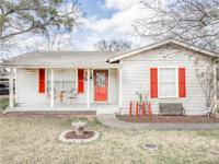 Super cute and well maintained 3 bed 1 bath home on