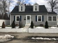 North Leominster 3 Bedroom cape with several updates,