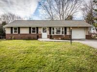 Charming renovated 3 BR/1 BA rancher, situated on a