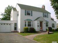 Rockville Center Style Center Hall Colonial On
