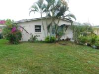 Great Location In Fort Pierce! 3/1 Cbs Home With Large
