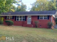 Just Listed! Newly renovated 3 BR/1 BA brick home