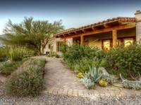 Fantastically renovated burnt adobe with walls of