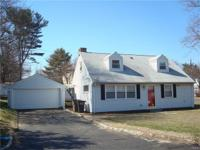 Come see this wonderful cape style home on a level lot