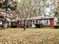 Nice, well maintained brick ranch on a full, partial