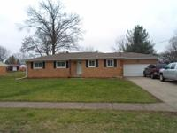 Brick 3 bedroom 1.5 bath. Hardwood floors thru-out,