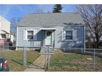 Great starter home 3 bedroom Cape with 1 car garage,