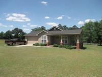 Craftsman style open floor plan home built in 2011 on