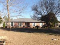 Immaculate ranch sitting on a beautiful 3 acres lot,