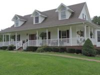 Very nice 3 bedroom, 2.5 bath sitting on over 7 acres.