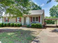 A fantastic deal in Greenville SC!! This 3BR 2 BA home