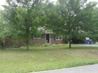 3 bedroom/1.5 bath brick home with fenced backyard, 2