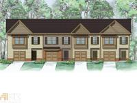 Sweetgum plan - very open end unit! Huge family room