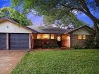 3 bedroom two bath updated home has a spacious kitchen